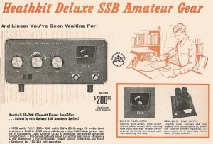 The legendary SB-200 HF Amplifier