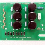K4LAJ's SB-200 HV power board - note the balance resistor values and placement