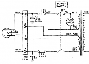 SB-200 power supply input stage